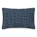 Online Designer Living Room Colonial Greek Key Lumbar Pillow Cover