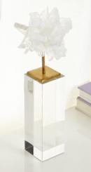 Online Designer Dining Room Tall Selenite Blossom on Stand