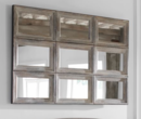 Online Designer Combined Living/Dining AIDEN EXTRA LARGE WALL MIRROR