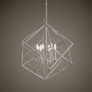 Online Designer Kitchen Elegant Interlocked Cube 6Lt. Pendant