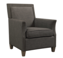 Online Designer Bedroom  Charcoal Linen Armchair