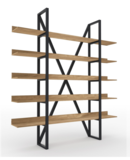 Online Designer Business/Office Vintage Industrial Wood Shelf