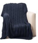 Online Designer Combined Living/Dining navy throw