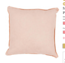 Online Designer Living Room sage pillow, peachy pink