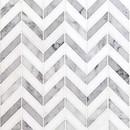 Online Designer Bathroom Talon Carrara & Thassos Marble Tile