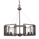 Online Designer Combined Living/Dining Sean Candle Style Chandelier