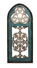 Online Designer Combined Living/Dining Creek Architectural Window Wall Décor