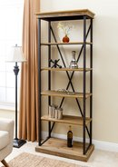 Online Designer Living Room Amberly Etagere Bookcase