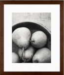 Online Designer Kitchen PEAR BOWL FRAMED PRINT BY LUPEN GRAINNE