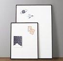 Online Designer Bedroom Classic Metal Frame Pinboard - Iron Small
