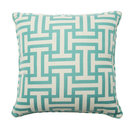 Online Designer Combined Living/Dining Premium Single Piped Zippered Throw Pillow