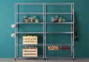 Online Designer Business/Office Omar 2 section shelving unit.