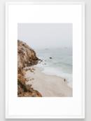 Online Designer Bedroom malibu coast / california Framed Art Print
