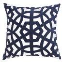 Online Designer Living Room Lantern Velvet Navy Lounge Cushion