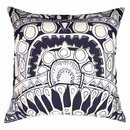 Online Designer Living Room Totem Silver Navy Lounge Cushion