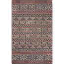 Online Designer Living Room Jaipur Stitched Etched Rose and Cement Hand-Tufted Rug 8' x 11'