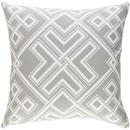 Online Designer Living Room Geometric Gray Shades Pillow