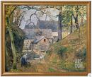 Online Designer Living Room A farm at Montfoucault, 1894 by Camille Pissaro