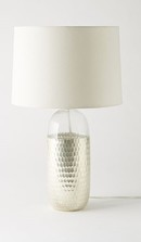 Online Designer Living Room Metallic Honeycomb Table Lamp