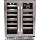 Online Designer Kitchen Whynter - Elite 40-Bottle Wine Refrigerator - Stainless Steel