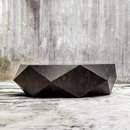 Online Designer Combined Living/Dining Asymmetric Coffee Table