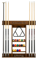 Online Designer Living Room Guinness Pool Table Wall Cue Rack
