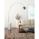 Online Designer Living Room Marble Over Arching Floor Lamp