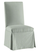 Online Designer Combined Living/Dining Ballard Essential Parsons Chair Slipcover