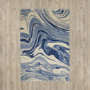 Online Designer Home/Small Office Melinda Light Blue Area Rug by Zipcode™ Design