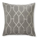 Online Designer Living Room Geometric Embroidered Velvet Pillow Cover