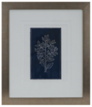 Online Designer Hallway/Entry SIMPLE FLOWER ON INDIGO WALL ART