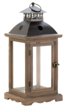 Online Designer Living Room Wooden Lantern by Three Posts