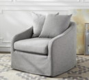 Online Designer Combined Living/Dining SWivel Club Chair