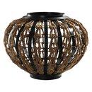 Online Designer Living Room Dark Iron and Rope Vase
