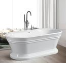 Online Designer Bathroom Freestanding Soaking Bathtub