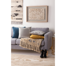Online Designer Living Room Geometric Gray Shades Pillow