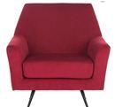 Online Designer Bedroom Arsdale Velvet Retro Mid Century Armchair