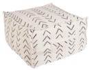 Online Designer Living Room WHITE VENICE POUF 5367