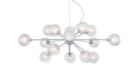 Online Designer Living Room Possini Euro Design Spheres 15-Light Glass Pendant