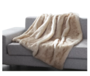 Online Designer Living Room Mueller Luxury Tip Dye Faux Fur Throw by Gracie Oaks