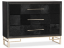 Online Designer Living Room Hooker Furniture Hair on Hide Black Accent Chest