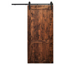 Online Designer Living Room Hoboken Wood 1-Panel Interior Barn Door