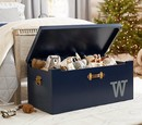 Online Designer Living Room Tucker Toy Chest, Midnight Navy