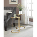 Online Designer Combined Living/Dining Halstead 2 Piece End Table Set