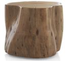 Online Designer Combined Living/Dining Teton Natural Solid Wood Accent Tabl