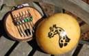 Online Designer Home/Small Office Senegalese Calabash Gourd Kalimba African musical instrument