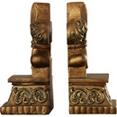 Online Designer Living Room Bronze Bookends by Astoria Grand