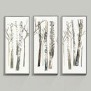 Online Designer Combined Living/Dining Fresh Birch Art