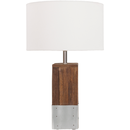 Online Designer Bedroom Restoration Wood Base Desk Lamp