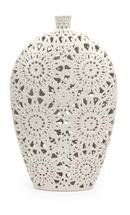 Online Designer Living Room Tillotson Floral Pierced Floor Vase